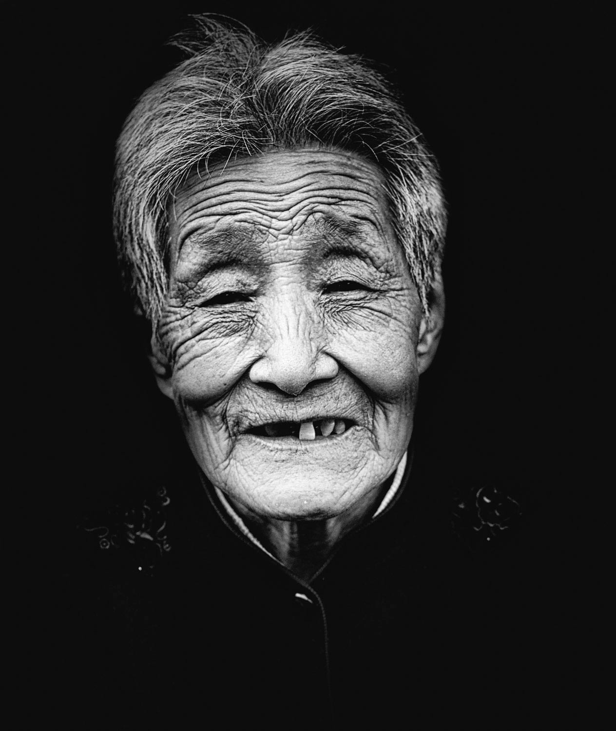 <p>Old China women<br /> 2014<br /> China</p>
