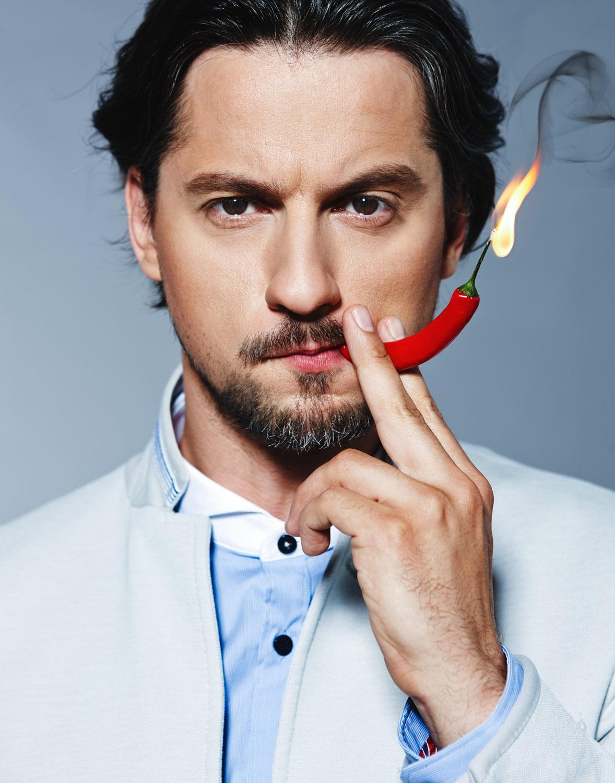 <p>Vytautas Rumšas (junior)<br /> Actor, TV host<br /> VMG summer magazine<br /> Lithuania<br /> 2013</p>